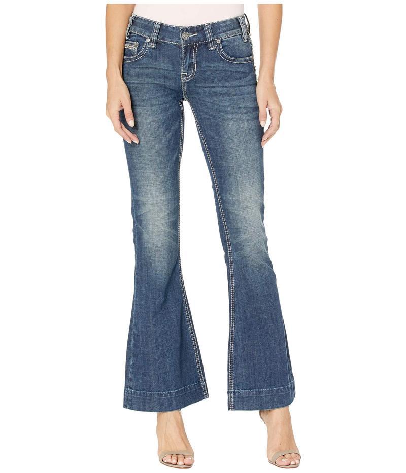 ロックアンドロールカウボーイ レディース デニムパンツ ボトムス Low Rise Trousers in Medium Vintage W8-2530 Medium Vintage