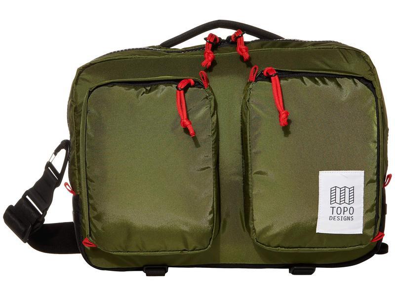 トポ・デザイン メンズ ビジネス系 バッグ Global Briefcase Olive