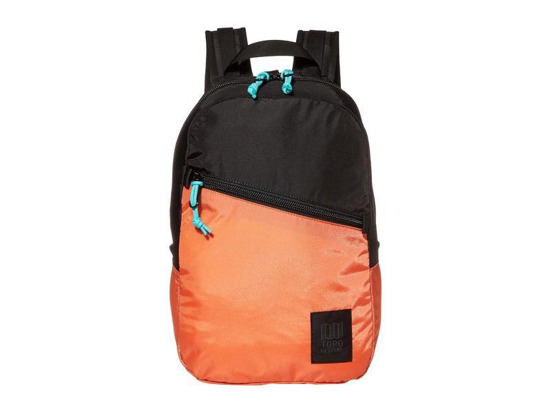 トポ・デザイン メンズ バックパック・リュックサック バッグ Light Pack Black/Coral