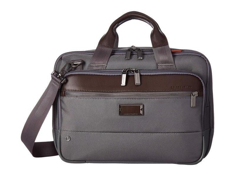 ブリグスアンドライリー メンズ ビジネス系 バッグ @Work Small Expandable Brief Grey