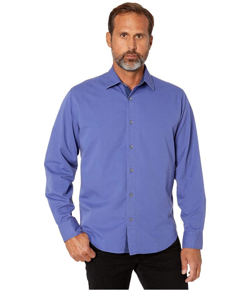 ブガッチ メンズ シャツ トップス Savignano Classic Fit Shirt Night Blue