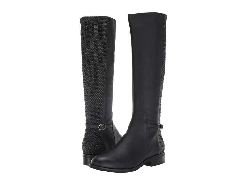 コールハーン レディース ブーツ・レインブーツ シューズ Isabell Stretch Boot Black Leather/T