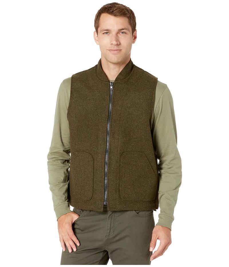 フィルソン メンズ コート アウター Wool Vest Liner Forest Green