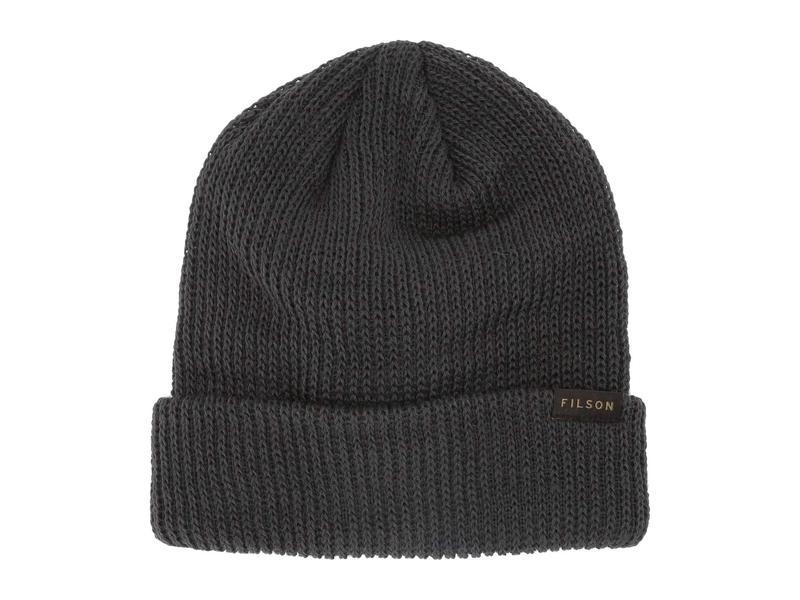 送料無料 サイズ交換無料 フィルソン メンズ アクセサリー 帽子 Charcoal フィルソン メンズ 帽子 アクセサリー Watch Cap Charcoal