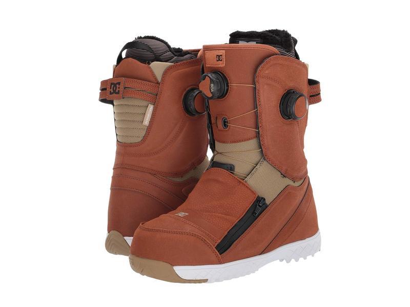 ディーシー レディース ブーツ・レインブーツ シューズ Mora BOA Snowboard Boots Brown