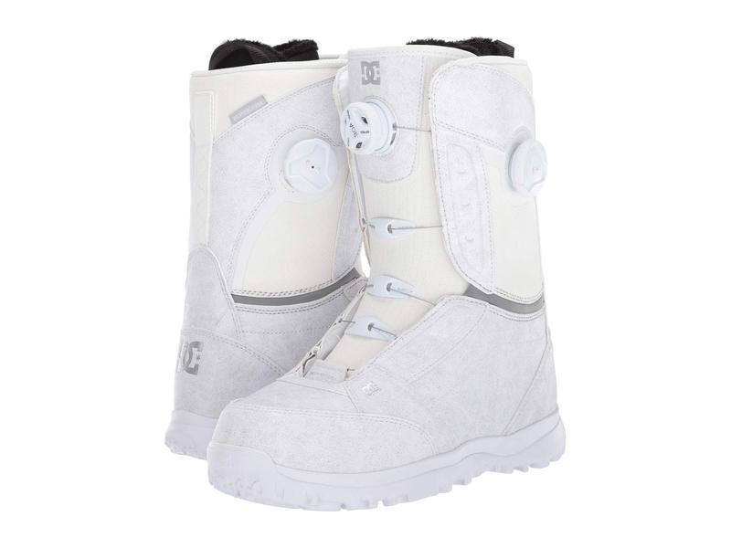ディーシー レディース ブーツ・レインブーツ シューズ Lotus Boa Snowboard Boots White