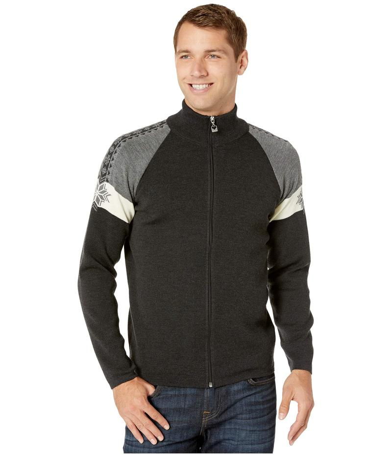 ダールオブノルウェイ メンズ ニット・セーター アウター Geilo Masculine Jacket Dark Charcoal/O