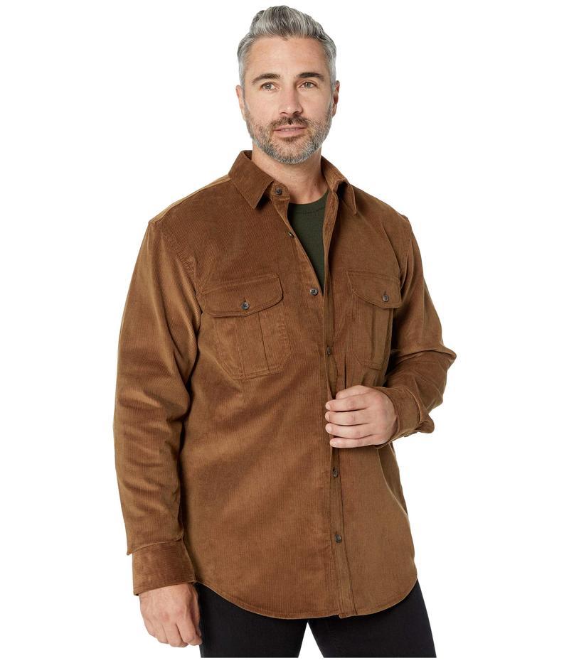 フィルソン メンズ シャツ トップス 11-Wale Corduroy Shirt Brown