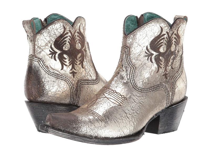 独特の素材 Silver:ReVida コーラルブーツ ブーツ・レインブーツ シューズ G1476 レディース 店-レディース靴