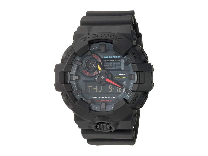ジーショック メンズ 腕時計 アクセサリー GA-700BMC-1A Black