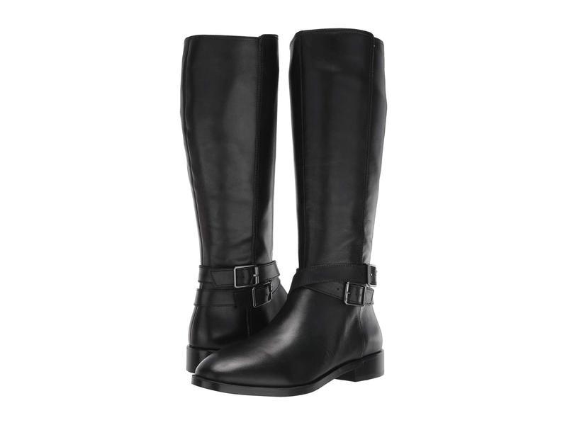 エアロソールズ レディース ブーツ・レインブーツ シューズ Martha Stewart Julia Black Leather