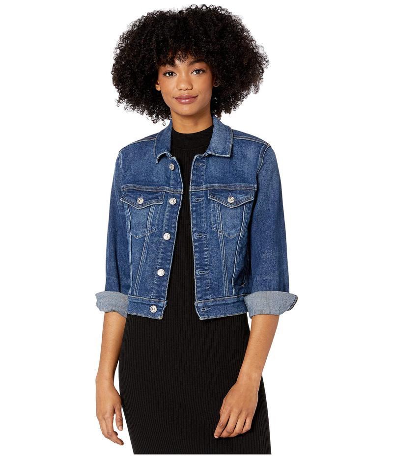 セブンフォーオールマンカインド レディース コート アウター Shrunken Long Sleeve Jacket Luxe Vintage St