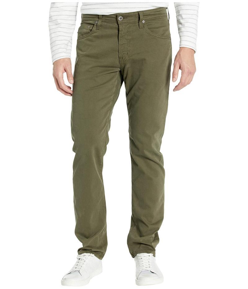 エージー アドリアーノゴールドシュミット メンズ デニムパンツ ボトムス Tellis Modern Slim Leg Jeans in Dark Algae Dark Algae