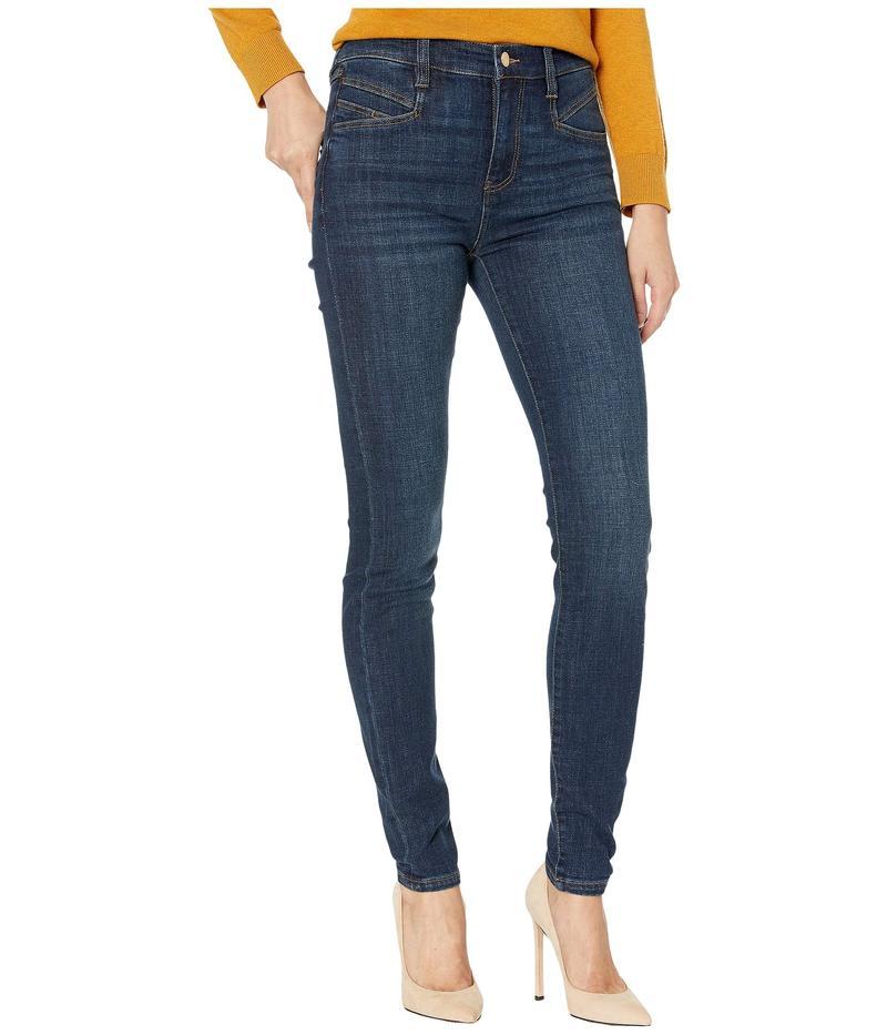 リバプール レディース デニムパンツ ボトムス Abby High-Rise Skinny w/ Slant Pocket in Vintage Denim in Ocala Ocala