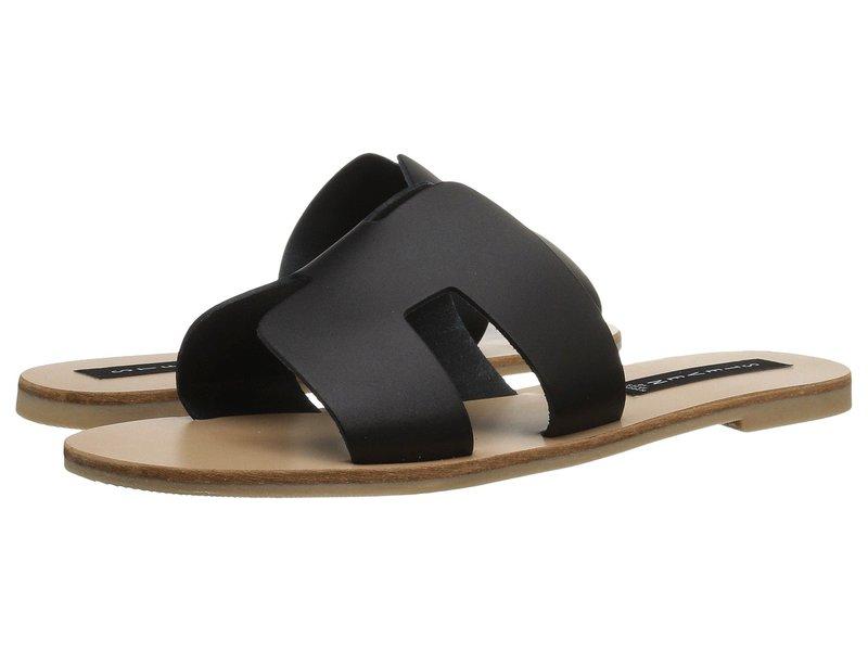 スティーブン レディース サンダル シューズ Greece Sandal Black Leather
