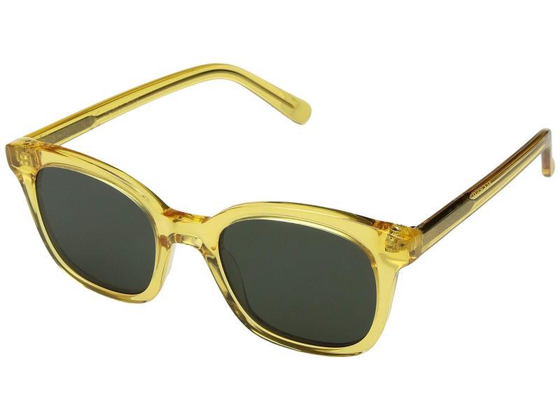 メイドウェル レディース サングラス・アイウェア アクセサリー Venice Flat-Frame Sunglasses Ferndale Yellow