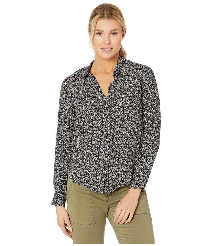 ラッキーブランド レディース シャツ トップス Georgia Shirt Black Multi