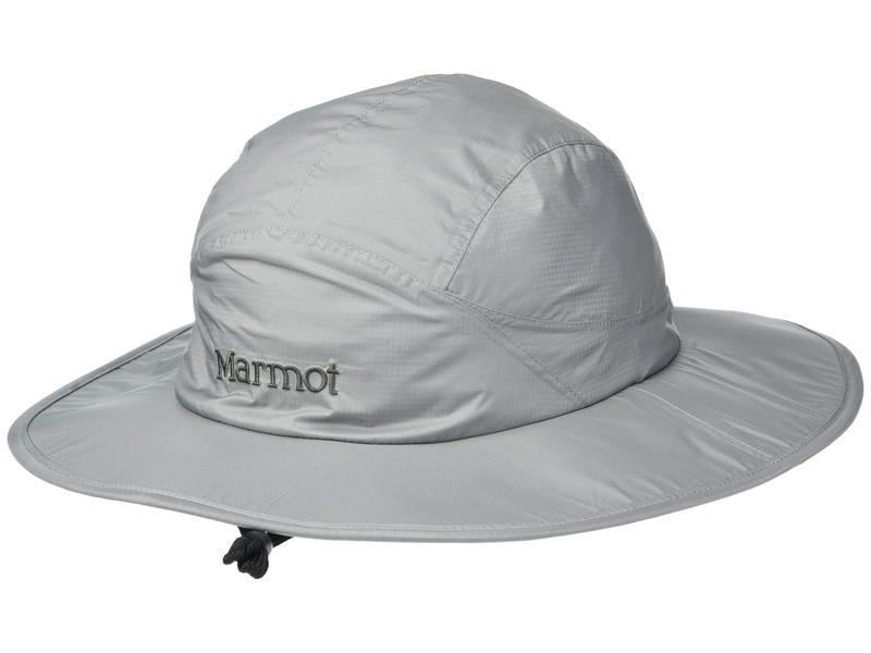 マーモット メンズ 帽子 アクセサリー PreCip Eco Safari Hat Grey Storm