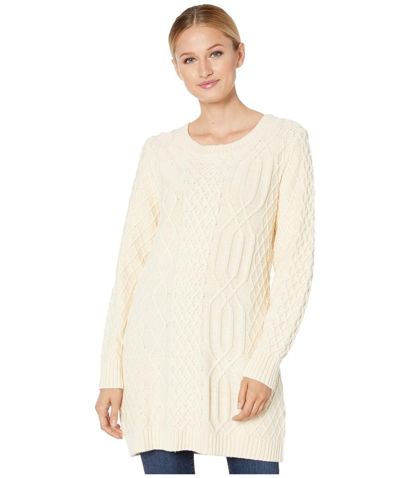 ペンドルトン レディース ニット・セーター アウター Cable Sweater Ivory