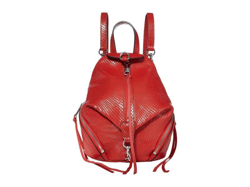 レベッカミンコフ レディース バックパック・リュックサック バッグ Convertible Mini Julian Backpack Tomato 1