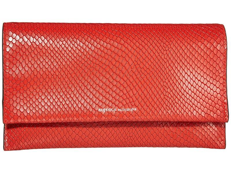 レベッカミンコフ レディース ハンドバッグ バッグ Wallet Clutch Tomato