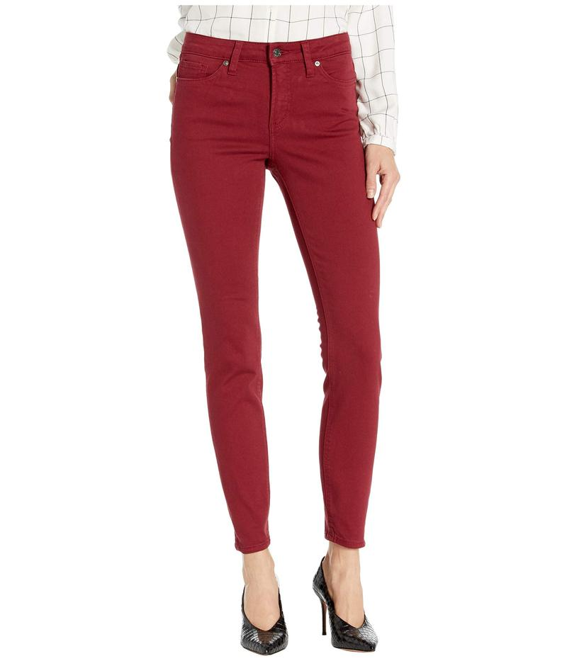 シルバー ジーンズ レディース デニムパンツ ボトムス Most Wanted Mid-Rise Skinny Jeans Red