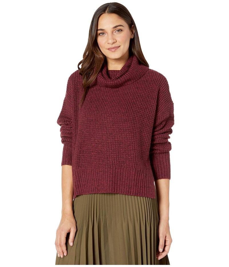 サンクチュアリー レディース ニット・セーター アウター Warm Your Heart Tunic Sweater Marled Garnet
