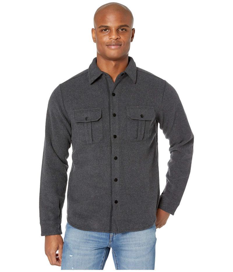 スマートウール メンズ コート アウター Anchor Line Shirt Jacket Charcoal Heathe