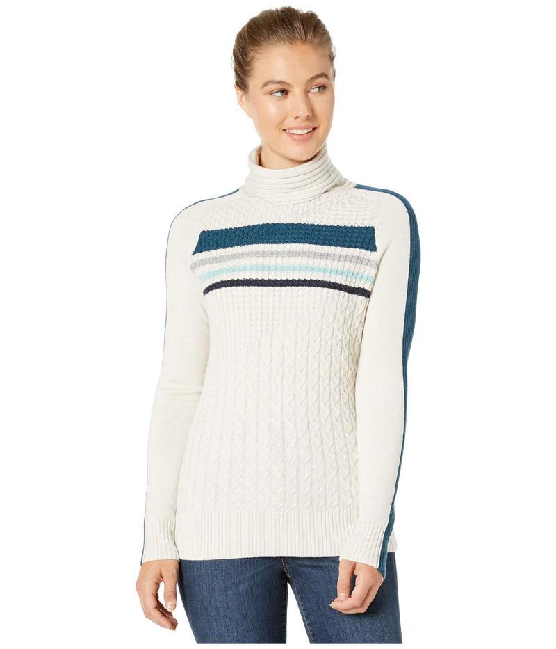スマートウール レディース ニット・セーター アウター Dacono Ski Sweater Moonbeam Heathe
