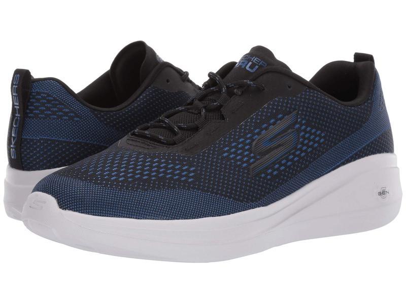 スケッチャーズ メンズ スニーカー シューズ Go Run Fast - Arco - 55105 Black/Blue