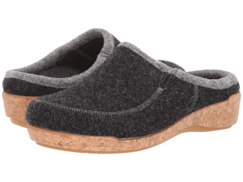 タオスフットウェア レディース サンダル シューズ Wool Do Charcoal