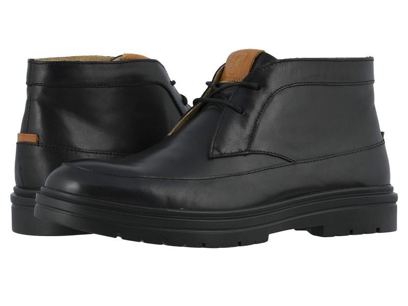 ステイシーアダムス メンズ ブーツ・レインブーツ シューズ Alcander Moc Toe Chukka Boot Black