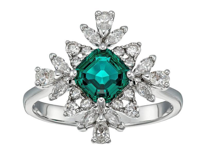 スワロフスキー レディース リング アクセサリー Emerald Palace Ring CZ White