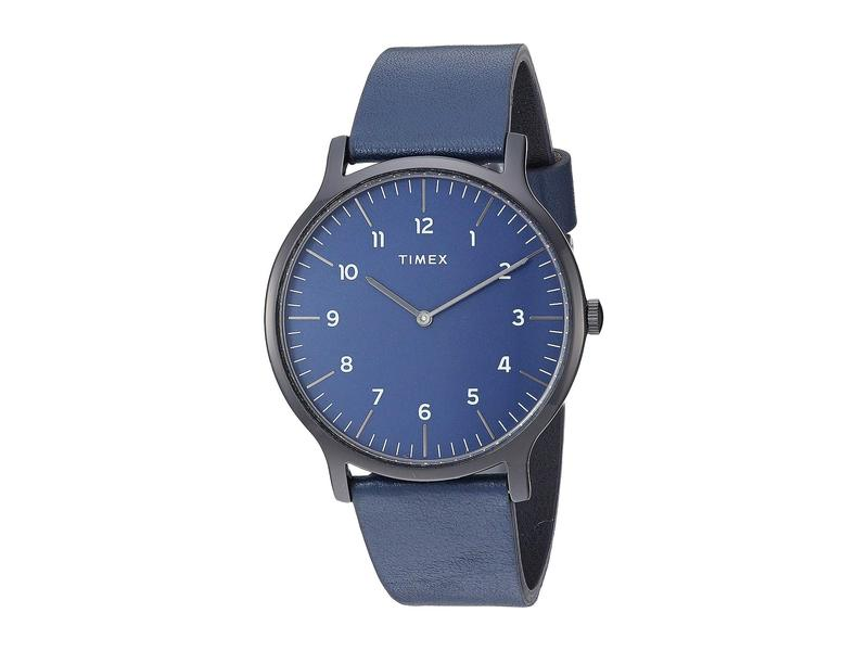 タイメックス メンズ 腕時計 アクセサリー 40 mm Norway 3-Hand Black/Blue/Blue