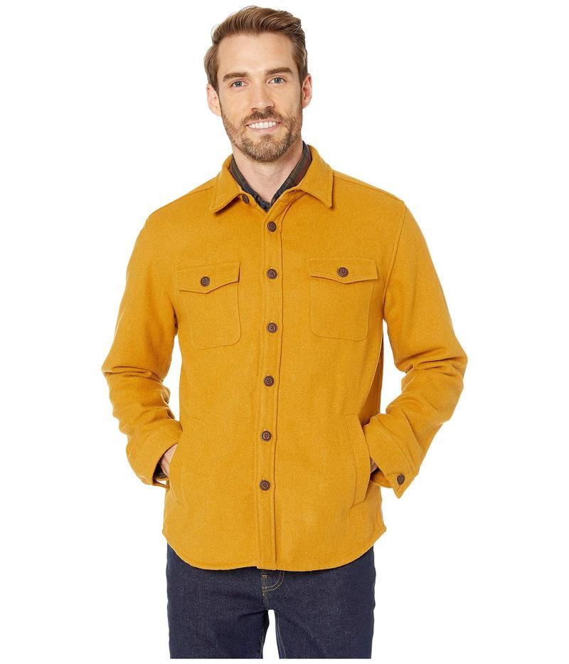 ノーマルブランド メンズ コート アウター Brightside Flannel Lined Jacket Yellow