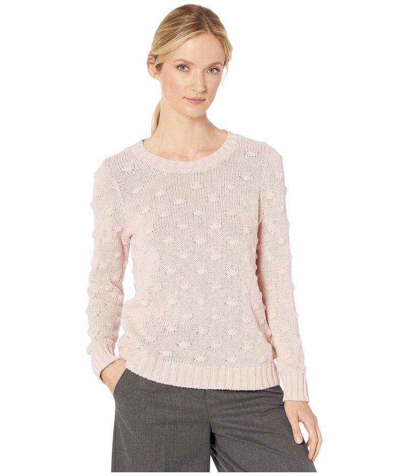 トゥーバイビンスカムート レディース ニット・セーター アウター Long Sleeve All Over Popcorn Sweater Soft Pink