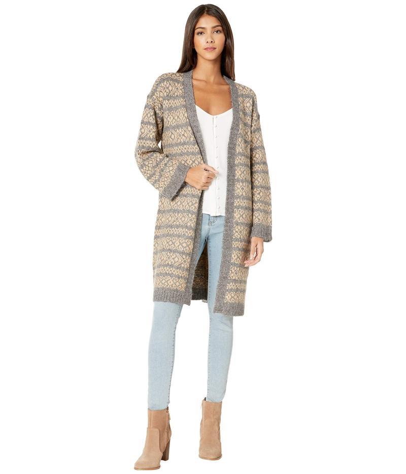 ビービーダコタ レディース ニット・セーター アウター To Be Fair Isle Sweater Medium Heather