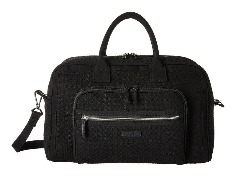 ベラブラッドリー レディース ボストンバッグ バッグ Iconic Compact Weekender Travel Bag Classic Black