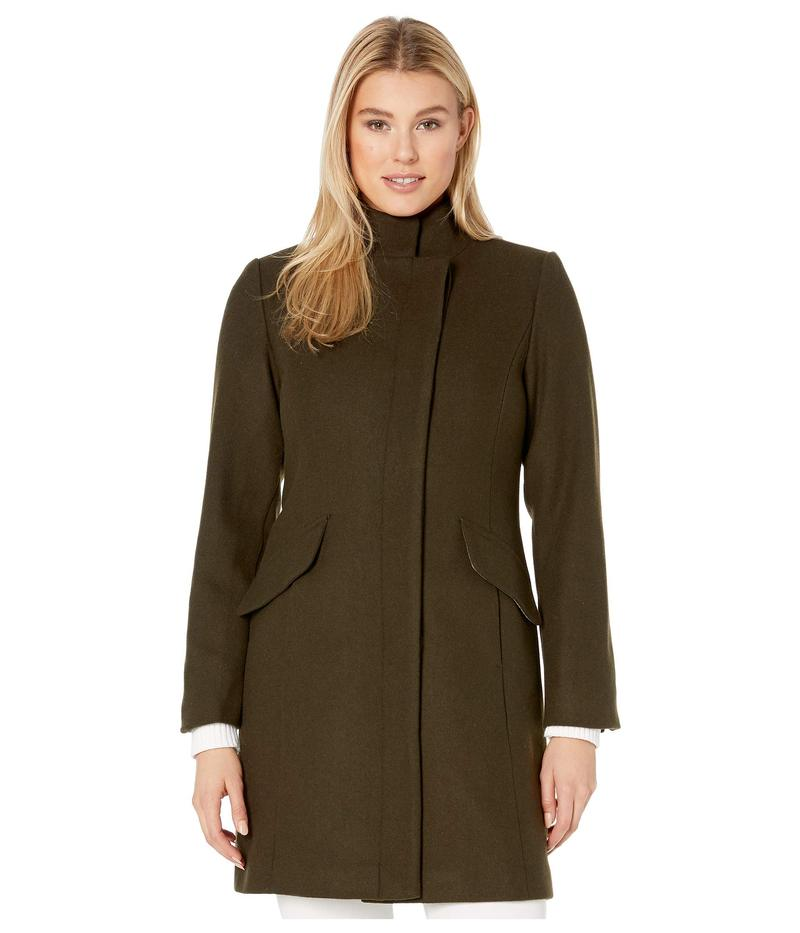 ヴィンスカムート レディース コート アウター Wool Coat V29760 Loden