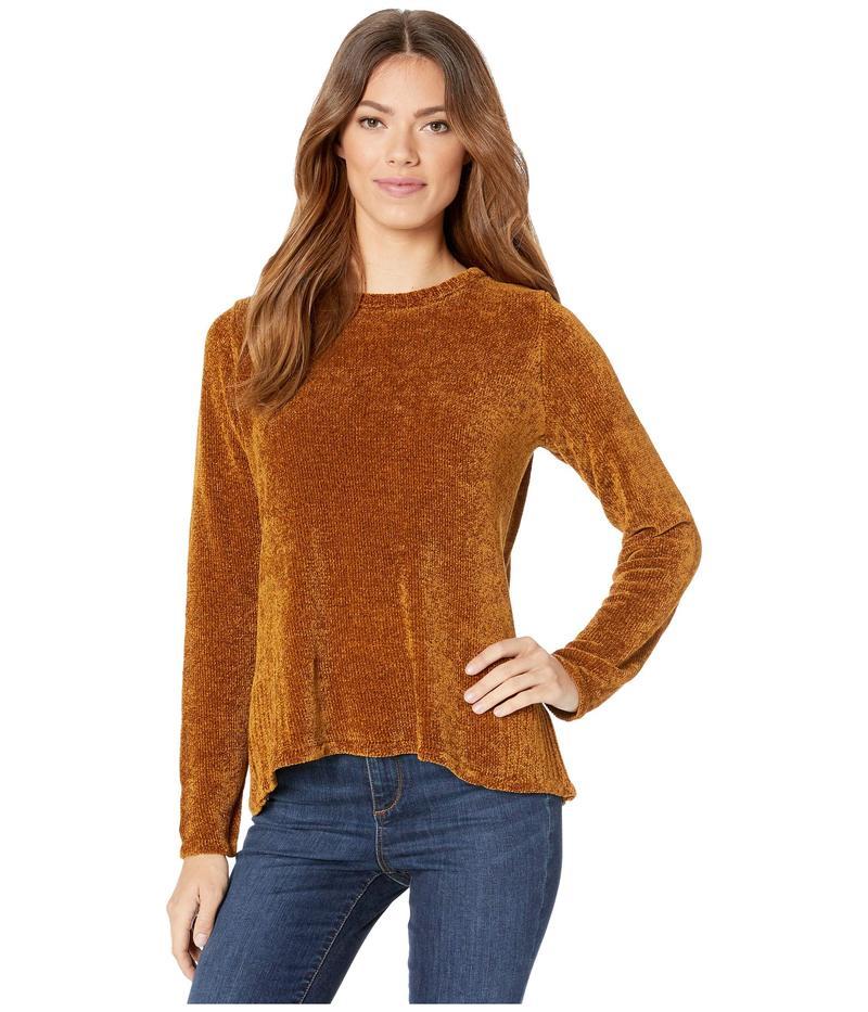 エックスシーブイアイ レディース ニット・セーター アウター Elevated Crew Sweater in Serene Knit Walnut
