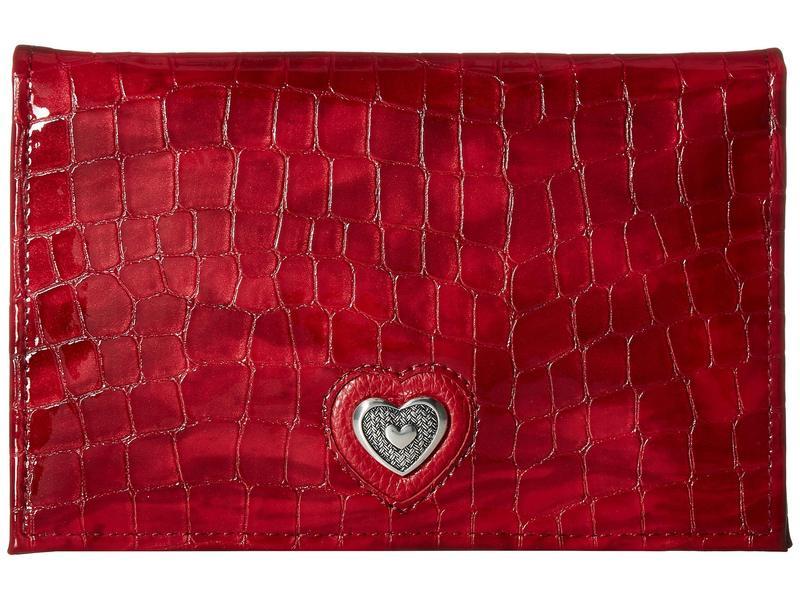 ブライトン レディース 財布 アクセサリー Bellissimo Heart Folio Wallet Lipstick