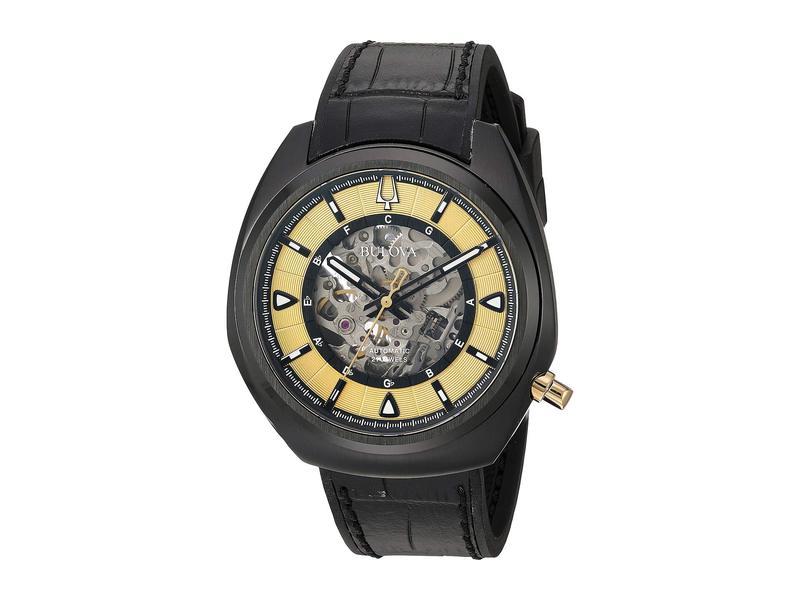 ブロバ メンズ 腕時計 アクセサリー Grammy - 98A241 Black
