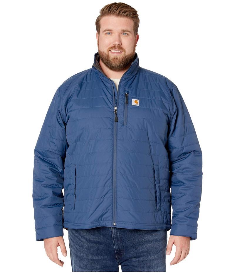 カーハート メンズ コート アウター Big & Tall Gilliam Jacket Dark Blue
