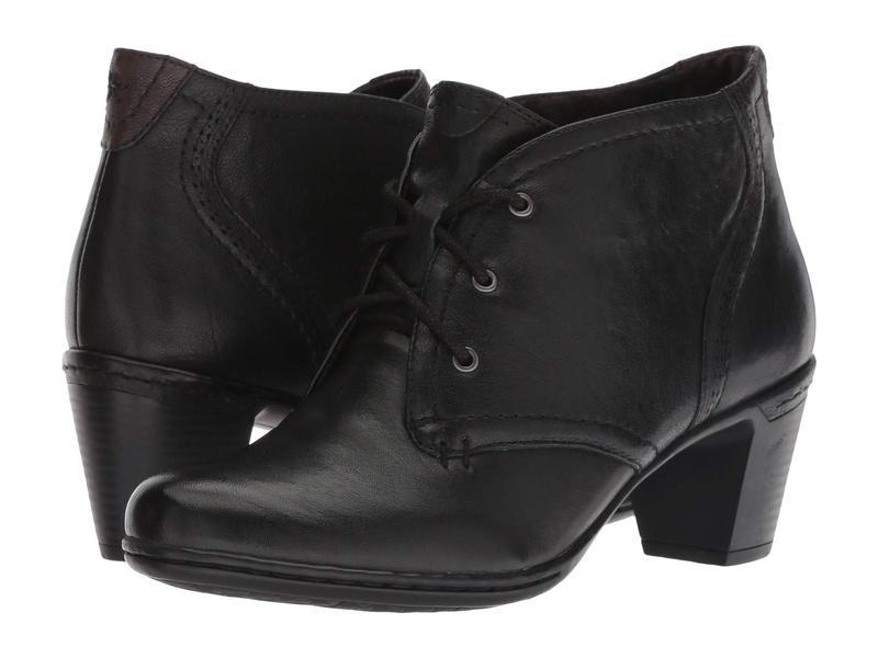 コブ ヒル レディース ブーツ・レインブーツ シューズ Cobb Hill Rashel Chukka Black Leather