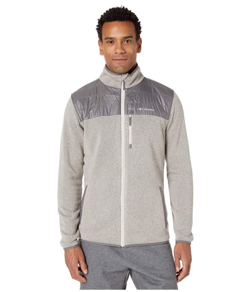 コロンビア メンズ コート アウター Canyon Point¢ Sweater Fleece Full Zip Dark Stone/City