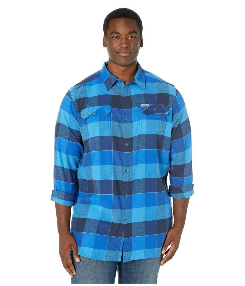 コロンビア メンズ シャツ トップス Big & Tall Flare Gun¢ Stretch Flannel Azure Blue Big
