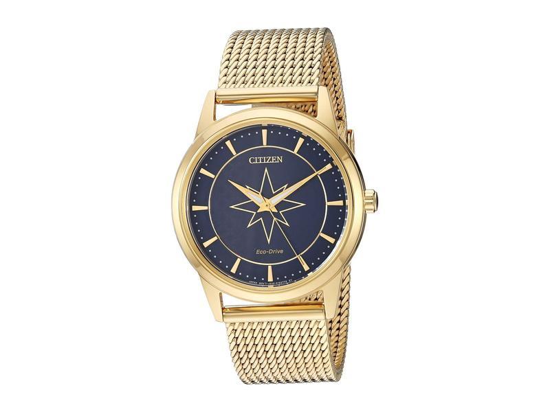 シチズンウォッチ メンズ 腕時計 アクセサリー Captain Marvel FE7062-51W Gold Tone