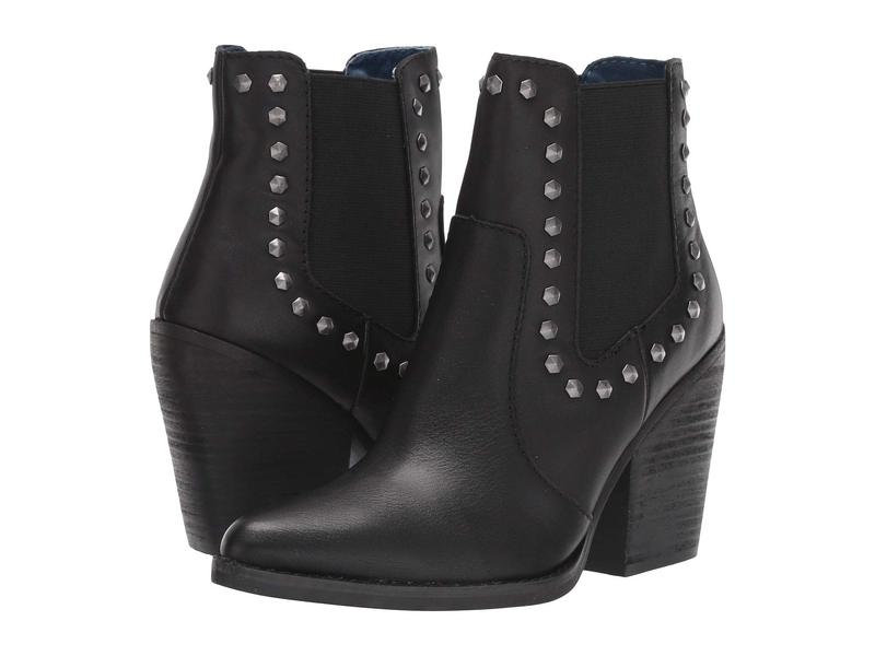 ディンゴ レディース ブーツ・レインブーツ シューズ Stay Sassy Black Leather