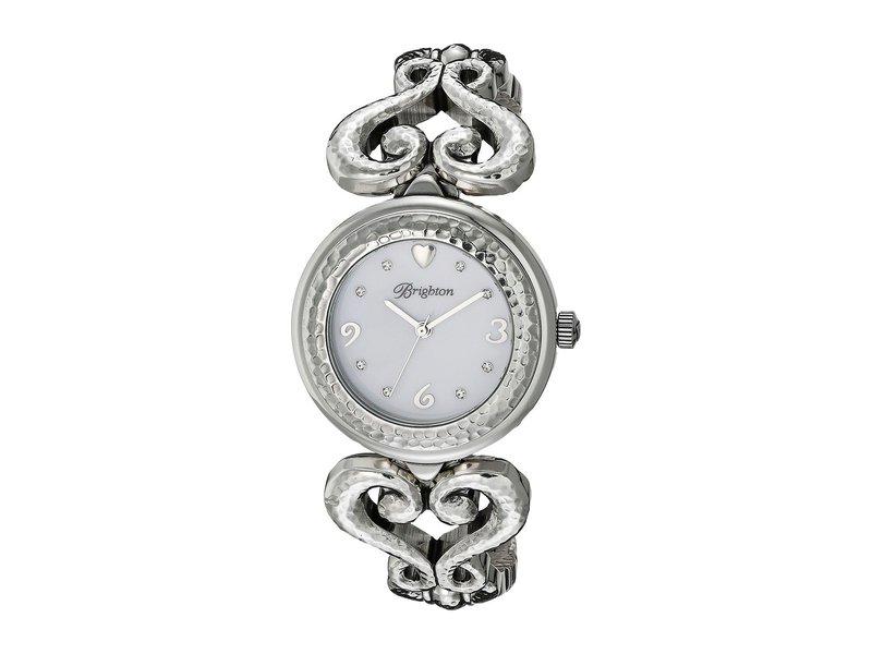 ブライトン レディース 腕時計 アクセサリー W41120 Genoa Heart Timepiece Silver