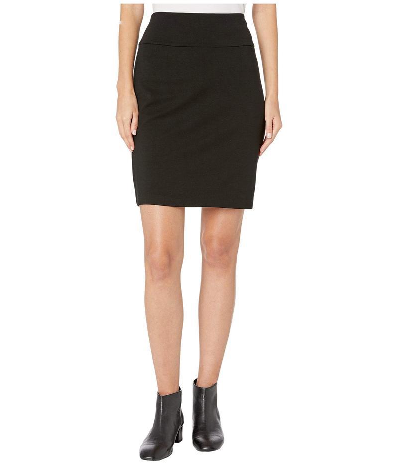 エイリーンフィッシャー レディース スカート ボトムス Tencel Ponte Knee Length Skirt Black